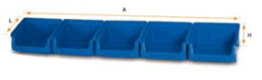 Лоток  для склада DOKA-903 с планкой